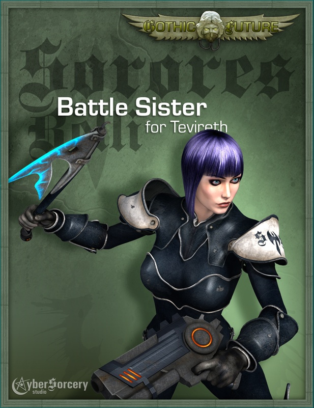 GF Battle Sister Armor for Tevireth Title Image